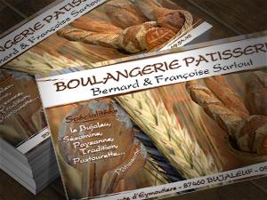 Carte De Visite Boulangerie Sartou