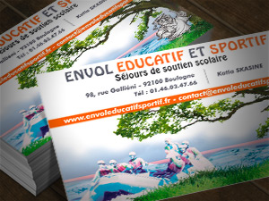 Carte de visite : Envol Educatif