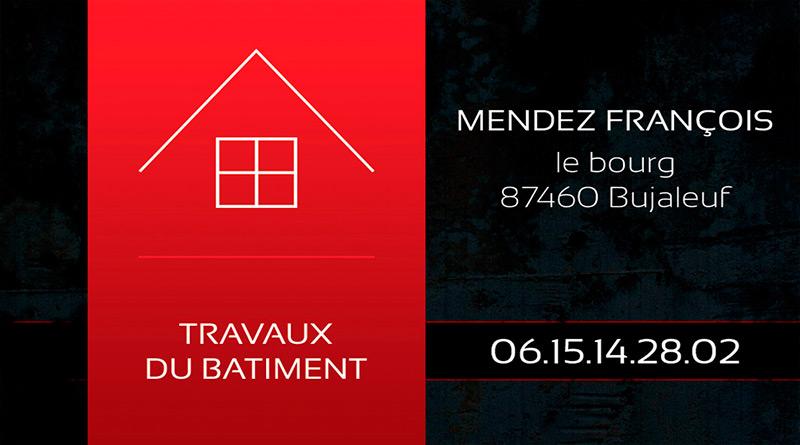 Carte De Visite Francois Mendez Zoom