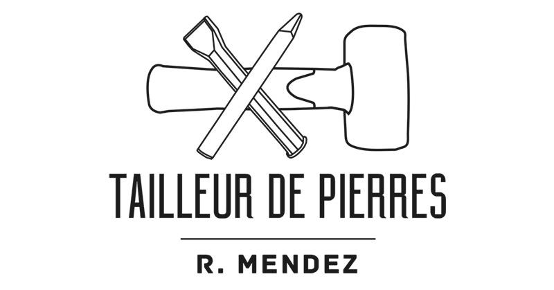 Carte De Visite Remy Mendez Verso Creation Logo Tailleur Pierres