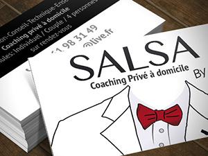 Carte De Visite Salsa By PA