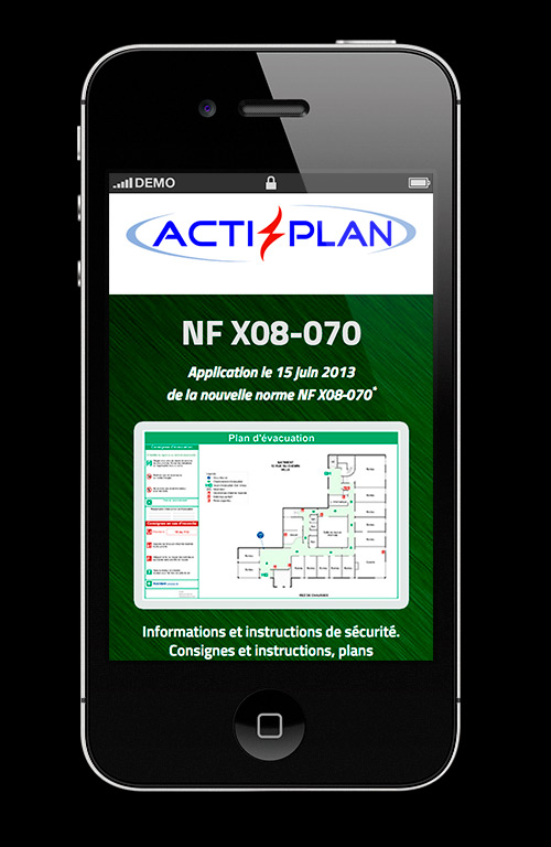 Nf X08 070 Norme Francaise Afnor Actiplan Smartphone