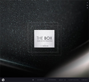 Site internet : The Box Studio
