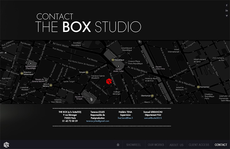 The Box Studio Specialiste Trucage Graphisme Conception Images 3d Plan